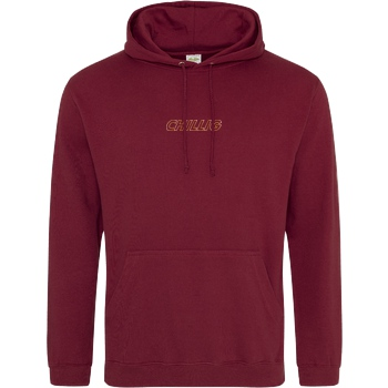 AimBrot Aimbrot - Chillig Sweatshirt JH Hoodie - Bordeaux