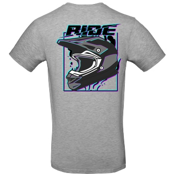 Anica Anica - Ride T-Shirt B&C EXACT 190 - heather grey