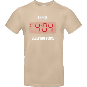 Error sleep multicolor