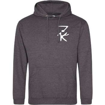ZerKill Zerkill - Wolf Sweatshirt JH Hoodie - Dark heather grey