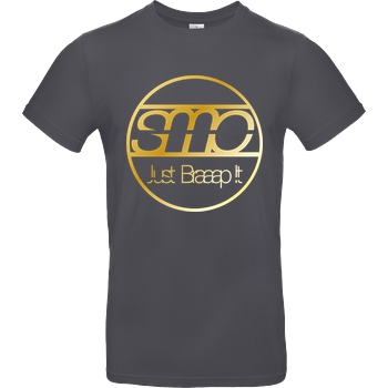 SumoOlli74 SumoOlli - Just Braaap It T-Shirt B&C EXACT 190 - Dark Grey