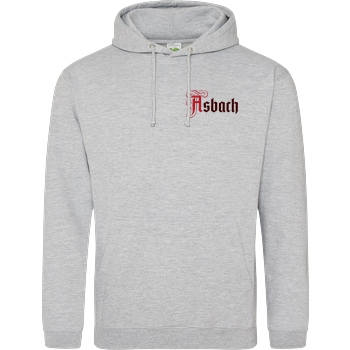 Asbach Asbach® - Logo small Sweatshirt JH Hoodie - Heather Grey
