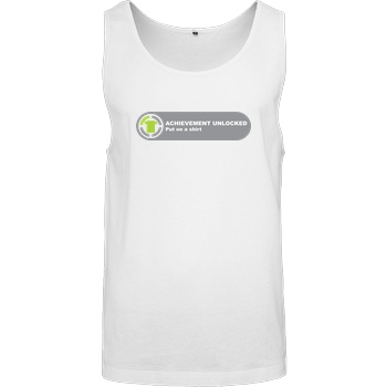 Achievement unlocked T-Shirt Tanktop men white