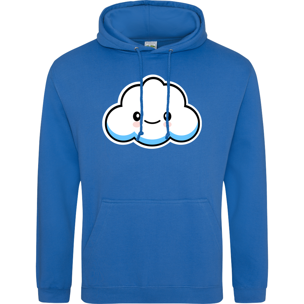 Sleepy Tim Sleepy Tim - Wolke Sweatshirt JH Hoodie - Sapphire Blue