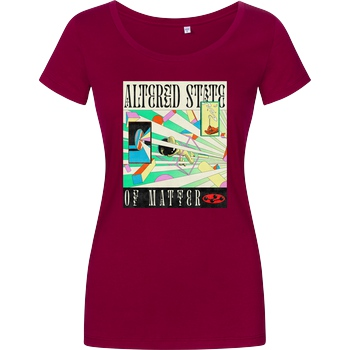 Hafaell Altered State of Matter T-Shirt Girlshirt berry