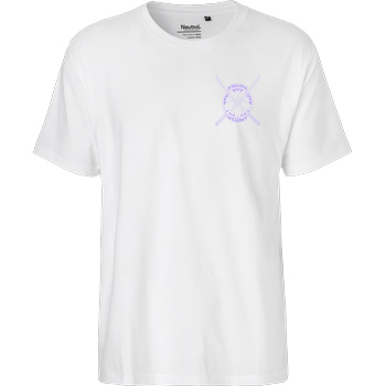 Nyalina Nyalina - Kunai purple T-Shirt Fairtrade T-Shirt - white