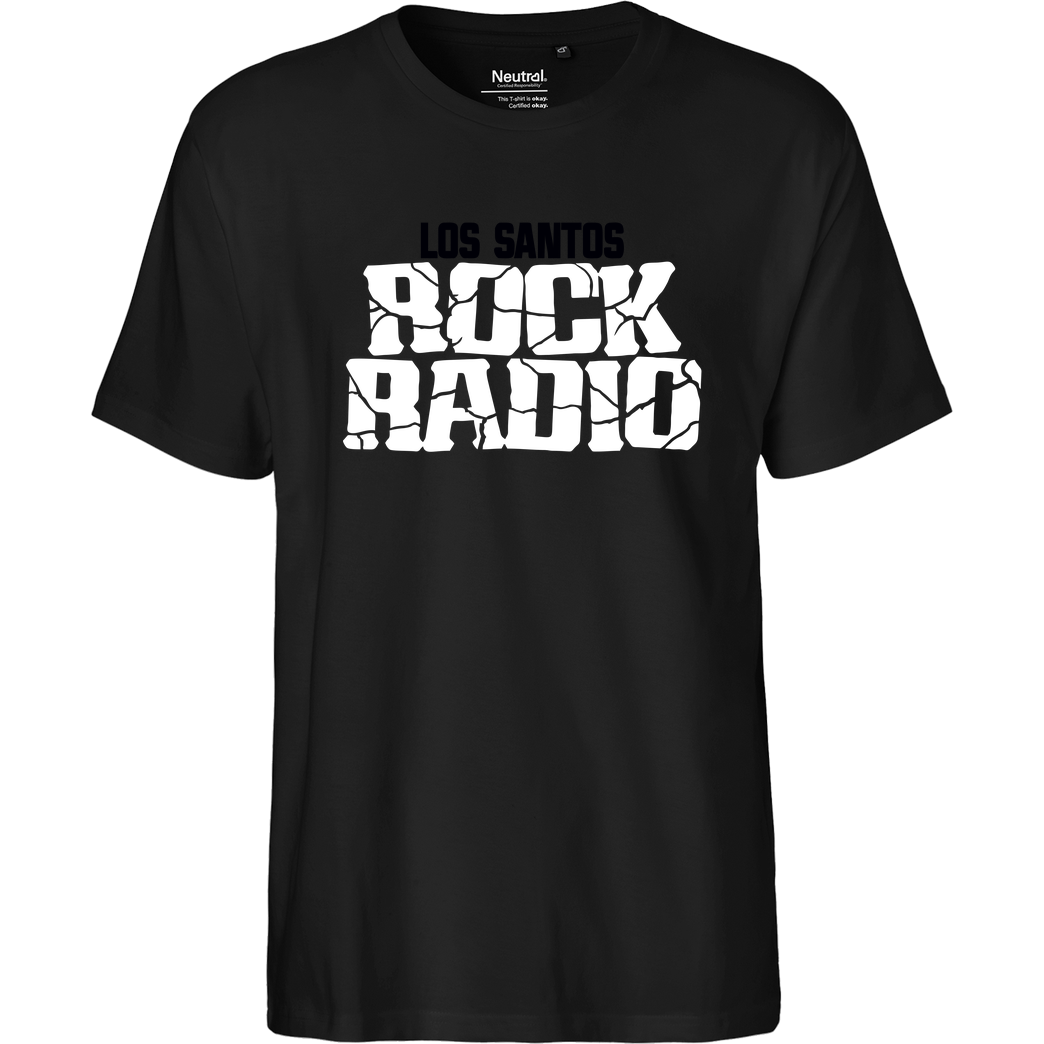 3dsupply Original Los Santos Rock Radio T-Shirt Fairtrade T-Shirt