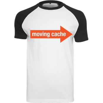 Moving Cache (man) white