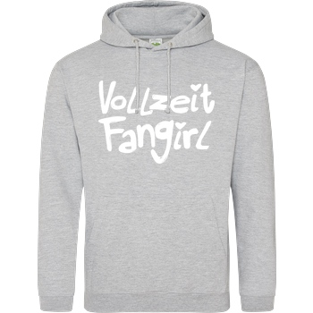 Gamerklinik Gamerklinik - Vollzeit Fangirl Sweatshirt JH Hoodie - Heather Grey