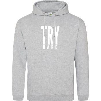 MarcelScorpion MarcelScorpion - Try Hard weiß Sweatshirt JH Hoodie - Heather Grey