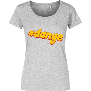 Kunga Kunga - #dange T-Shirt Damenshirt heather grey