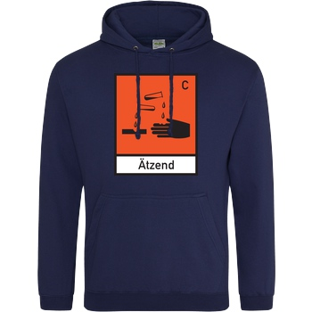 Ätzend orange