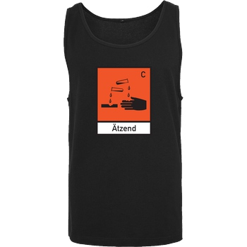 None Ätzend T-Shirt Tanktop men black