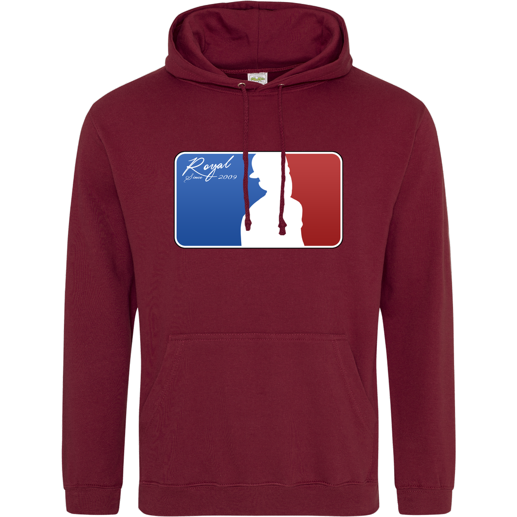 RoyaL RoyaL - MLG Sweatshirt JH Hoodie - Bordeaux