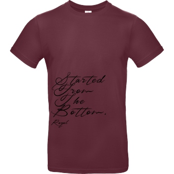 RoyaL RoyaL - SFTB T-Shirt B&C EXACT 190 - Bordeaux