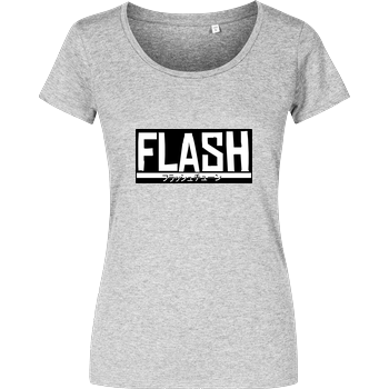 FlashtuneLPs - Flash Damenshirt heather grey