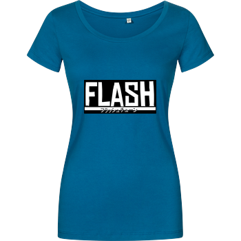 FlashtuneLPs - Flash Damenshirt petrol