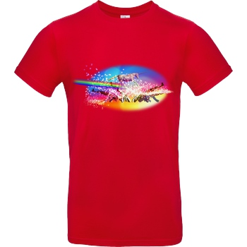 Alexander Lehmann Alexander Lehmann - Eternal Dream of Beauty T-Shirt B&C EXACT 190 - Red