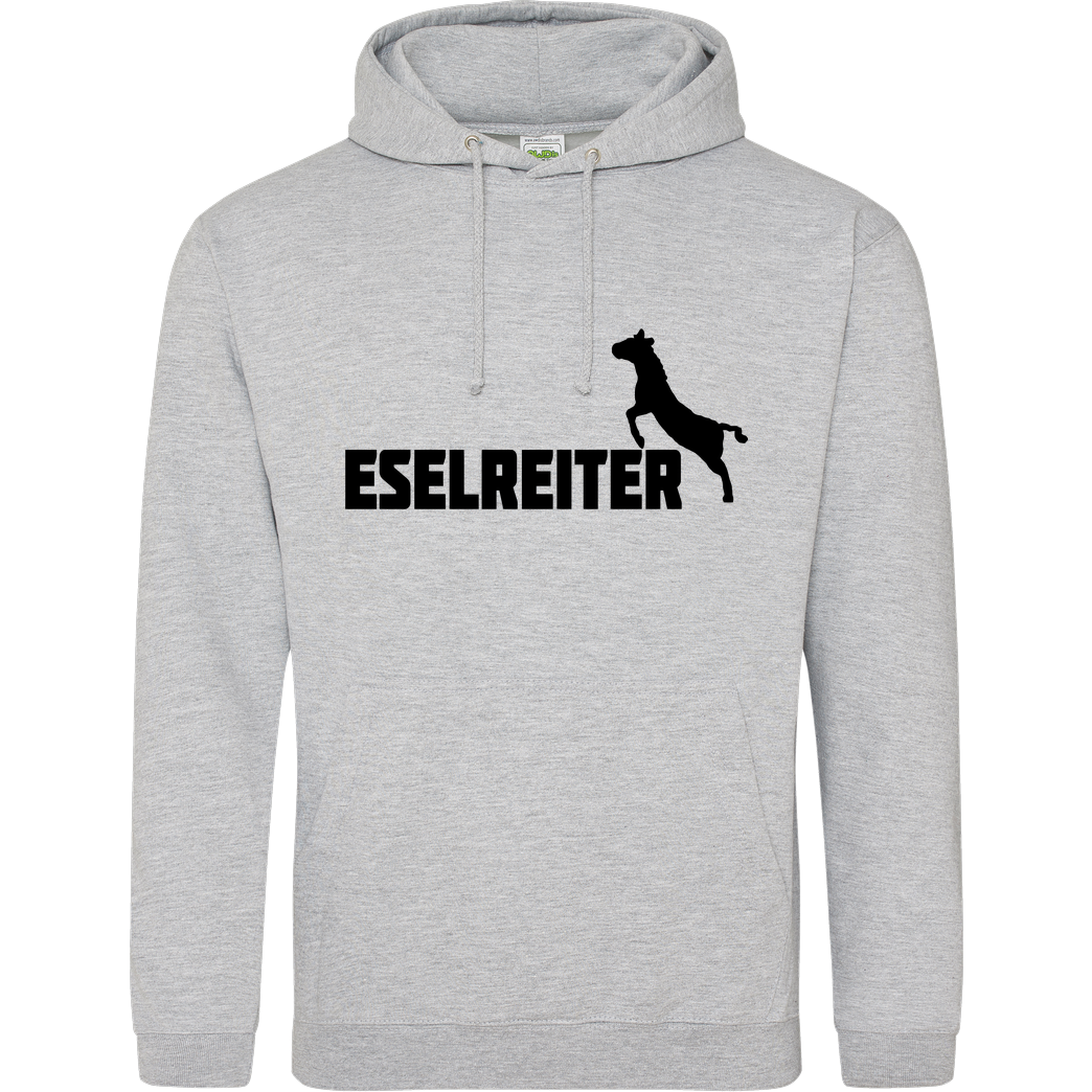 Kunga Kunga - Eselreiter Sweatshirt JH Hoodie - Heather Grey