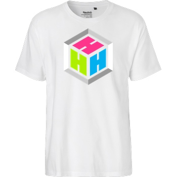 der_hacki Der Hacki - Logo T-Shirt Fairtrade T-Shirt - white