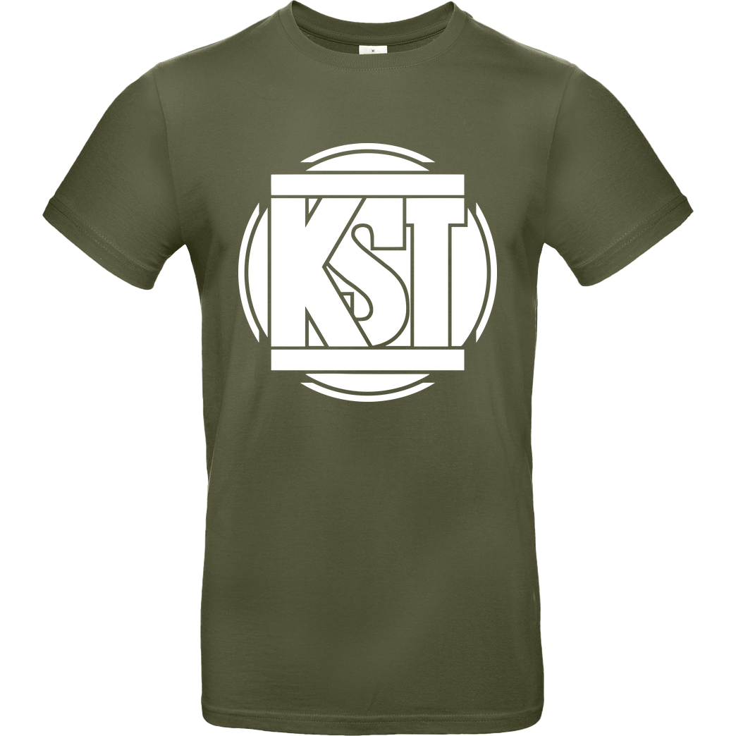 KsTBeats KsTBeats - Simple Logo T-Shirt B&C EXACT 190 - Khaki