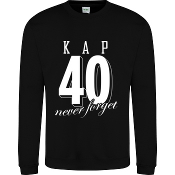 MarcelScorpion MarcelScorpion - Never forget Sweatshirt JH Sweatshirt - Schwarz
