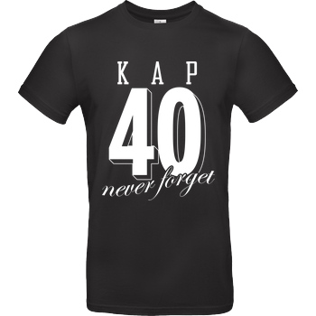 MarcelScorpion MarcelScorpion - Never forget T-Shirt B&C EXACT 190 - Black