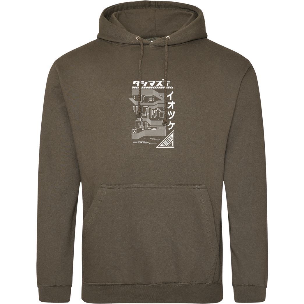 Dominik_RC RangerCenter - Who we are Sweatshirt JH Hoodie - Khaki