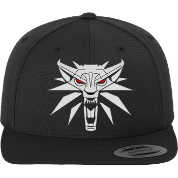 Witcher Medallion Cap new silver