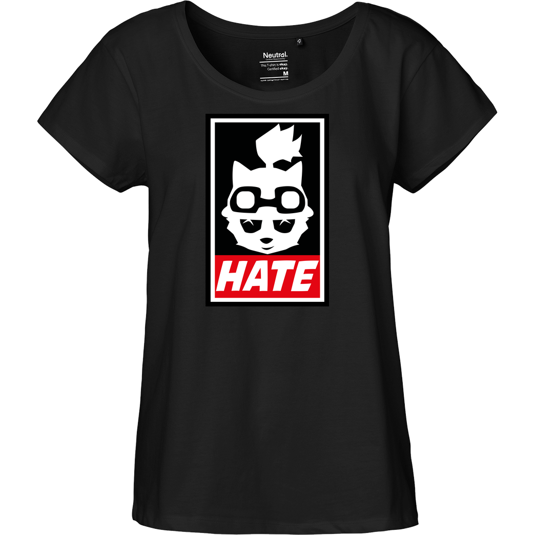 IamHaRa Teemo Hate T-Shirt Fairtrade Loose Fit Girlie