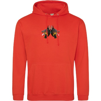 RoyaL RoyaL - D-Dogs Sweatshirt JH Hoodie - Orange