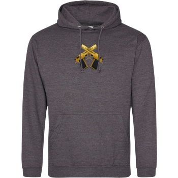 RoyaL RoyaL - D-Eagle Sweatshirt JH Hoodie - Dark heather grey