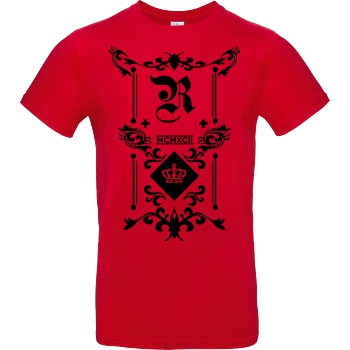 RoyaL RoyaL - Classic T-Shirt B&C EXACT 190 - Rouge
