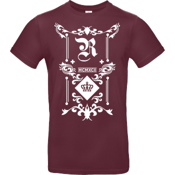 RoyaL RoyaL - Classic T-Shirt B&C EXACT 190 - Bordeaux