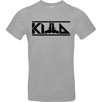 KillaPvP KillaPvP - Logo T-Shirt B&C EXACT 190 - heather grey