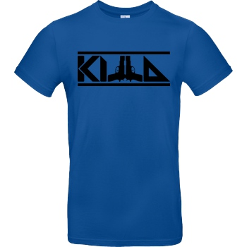 KillaPvP KillaPvP - Logo T-Shirt B&C EXACT 190 - Royal