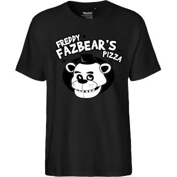IamHaRa Freddy Fazbear's Pizza T-Shirt Fairtrade T-Shirt