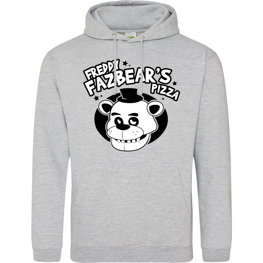IamHaRa Freddy Fazbear's Pizza Sweatshirt JH Hoodie - Heather Grey