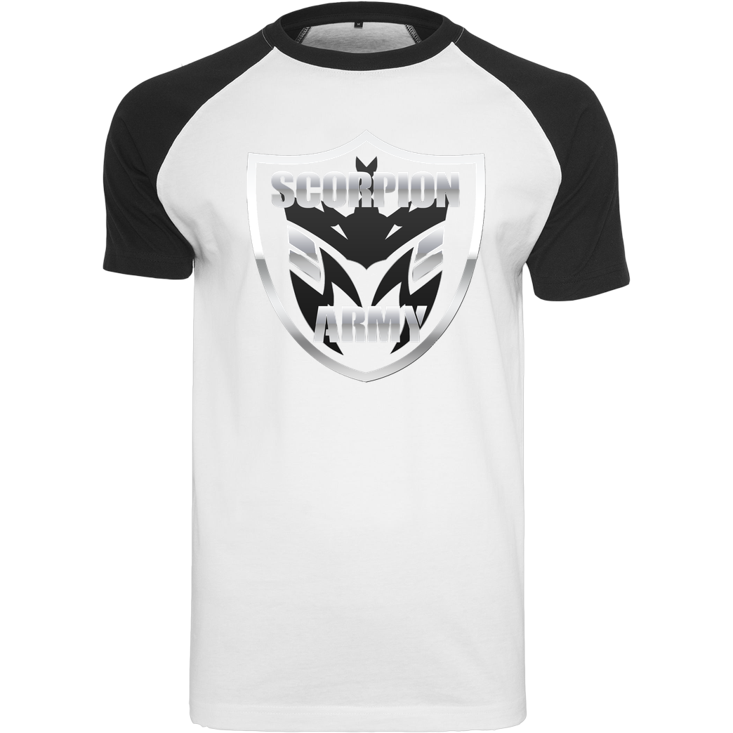 MarcelScorpion MarcelScorpion - Scorpion Army T-Shirt Raglan Tee white