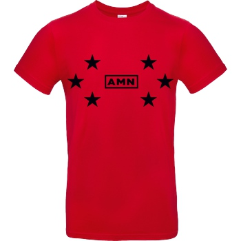 AMN-Shirts - Stars black
