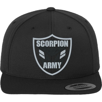 MarcelScorpion - Scorpion Army Cap dark grey