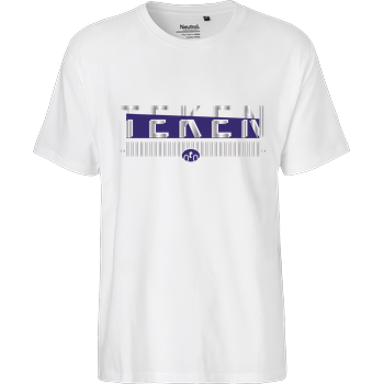 Teken - Logo Fairtrade T-Shirt - weiß