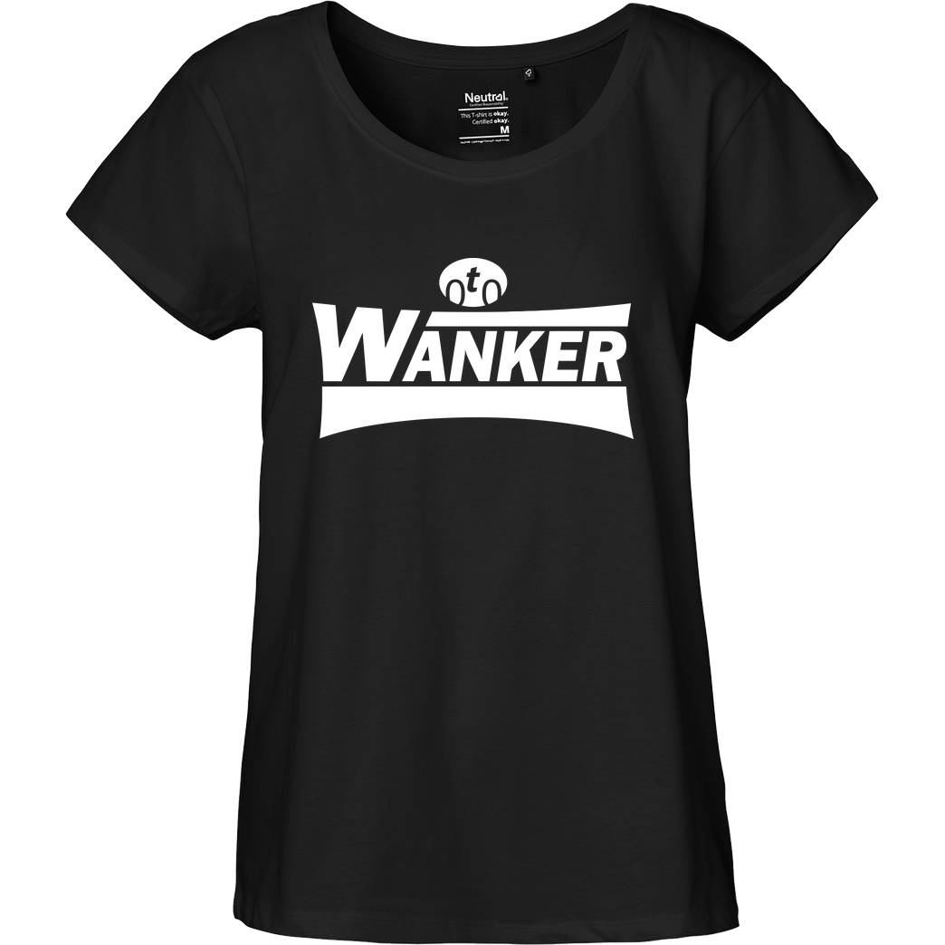 Teken Teken - Wanker T-Shirt Fairtrade Loose Fit Girlie