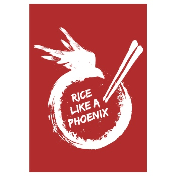 Joon Kim - Rice like a Phoenix white