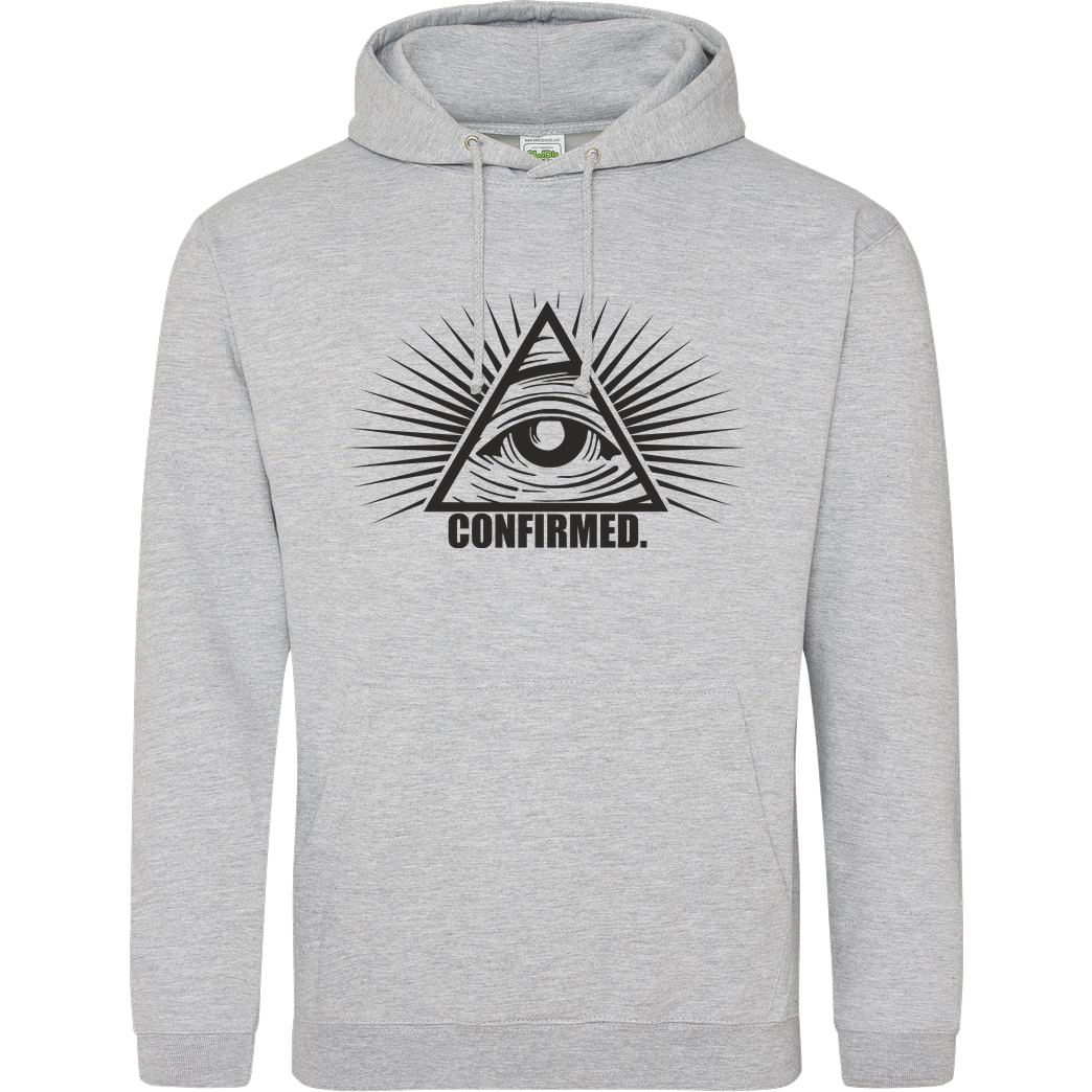 IamHaRa Illuminati Confirmed Sweatshirt JH Hoodie - Heather Grey