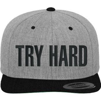 MarcelScorpion - Try Hard Cap heather black