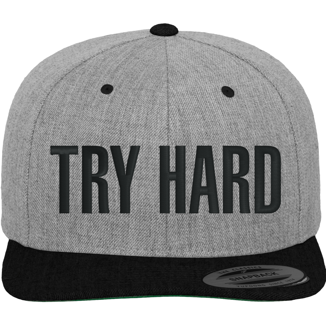 MarcelScorpion MarcelScorpion - Try Hard Cap heather Cap Cap heather grey/black