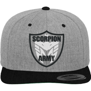 MarcelScorpion - Scorpion Army Cap heather grey
