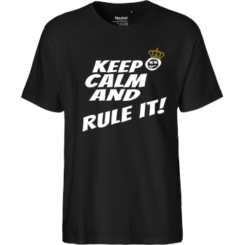 Hallodri - Keep Calm and Rule It! white