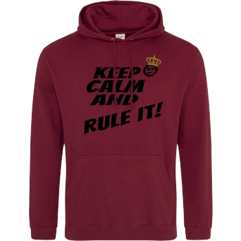 Hallodri - Keep Calm and Rule It! black